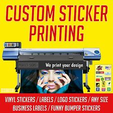 PRINTING CUSTOM PRINTED VINYL STICKERS,LABELS,CAR,SIGN,LOGO,BUSINESS 1000x700mm