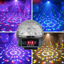 HOT DMX512 Disco Bar Stage Light Digital LED RGB Crystal Magic Ball Effect Light