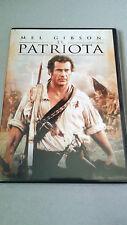 """DVD """"EL PATRIOTA"""" COMO NUEVA MEL GIBSON HETH LEDGER ROLAND EMMERICH"""