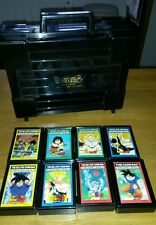 Dragonball z lot de 8 hard case PP Card + malette rare
