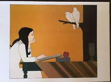 Will Barnet Introspection 1972 Poster Authorised Reproduction 40x29cm 8