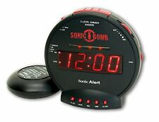 Alarm Clocks For Heavy Sleepers Clock Teens Extra Loud Shaking Home Battery Dual