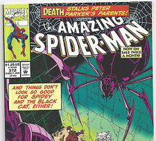 The Amazing Spider-Man #372 with Black Cat from Jan. 1993 in NM- condition DM