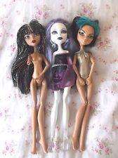 LOT  Monster High Doll   FASHION GIRL DOLLS  Mattel