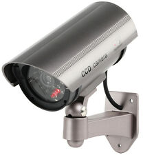 VERY REALISTIC FULL SIZE DUMMY CCTV OUTDOOR SECURITY SYSTEM CAMERA