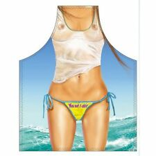 Kochschürze SEXY MISS WET SHIRT Beach Party Miami Florida USA Grillschürze Apron