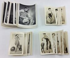 48 Vintage EROTIC PHOTOGRAPHS Nude Women NAUTICAL LADY Drum Girl BURLESQUE