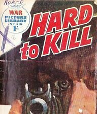 A Fleetway War Picture Library Pocket Comic Book Magazine #516 HARD TO KILL