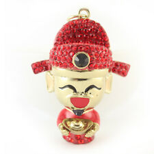Chinese God of Wealth Fortune Teller Keychain Charm Cute Fun New Year Gift 01288