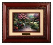 Thomas Kinkade Pools of Serenity - Brushwork (Brandy Frame)