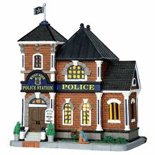 Coventry Cove Lemax Christmas Village Building West Side Police Station Law NEW