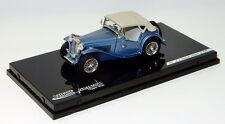 VITESSE V29161, MG TC CABRIO TOP CLOSED, CLIPPER BLUE, 1:43 SCALE