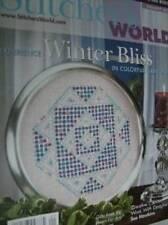 Stitcher's World Mag Jan 2006 Victorian Village Afghan Winter Quilts-Cross Stitc