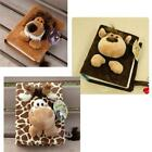 80 Pages Cartoon Fluff Soft Doll Photo Plush Album for Baby Family XT