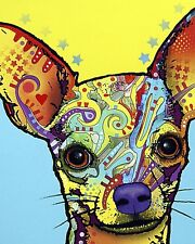 Chihuahua by Dean Russo Dog, Print 8x10