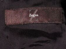 Ermenegildo Zegna 100% Wool 2 Button Black w/ Stripe Luxury Suit 42R