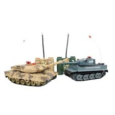 RADIO / TELECOMANDO RC CONTROL infrared-m1a2 TWIN BATTAGLIA tank-tanks SCALA 1:24