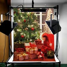 Christmas Vinyl Photography Background Studio Photo Prop Backdrop 5x7ft 1.5x2.1M