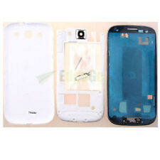 OEM Full Housing Fascia Chassis Cover Case For Samsung Galaxy S3 SIII i9300 WHT