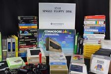 Huge Commodore 64 Mega Lot: Mint C64 Computer w/1541 & Over 200 Games/Programs!
