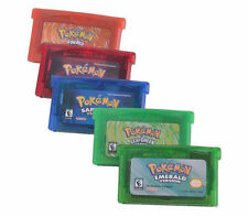Pocket Monster Sapphire/Emerald /FireRed/LeafGreen/Ruby GBM/GBA/SP/NDS 5PC SET