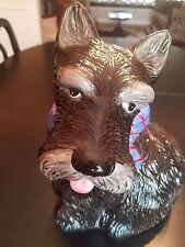 MAC Scottie Dog Cookie Jar Scottish Terrier