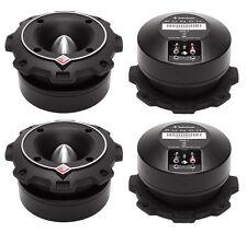"""4) New Rockford Fosgate PP4-T 1.5"""" 400 Watt Heavy Duty Car Power Bullet Tweeters"""