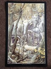 Lord Of The Rings PRINT Fantasy Art Alan Lee JRR Tolkien Vintage STONE TROLLS