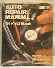 1977 ~ 1982 Motor's Auto Repair Manual All US Manufacturers For This Time Period