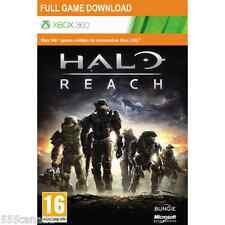 Halo Reach Full Game Download Code Card Microsoft Xbox 360 Live - REGION FREE
