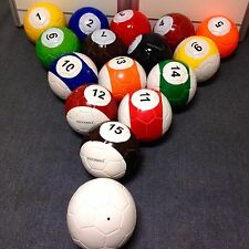 5# 16 Snooker Soccer Snook Ball Snookball Game Huge Football Include Air Pum Toy