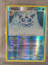 Pokemon Card TCG Glalie LV 43 HP 90 25/123 Holo in Hard Sleeve