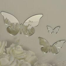 Shatterproof Specchio Acrilico Farfalla Set di 3 - 15CM - 10CM - 5cm Regalo Ideale