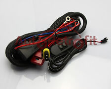 12V Universal Relay Wiring Harness w/Fuse and Switch for HID Fog Light Projector