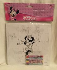 Disney Junior Puzzle & 6 Crayons Coloring Set - Minnie Mouse Bow-tique