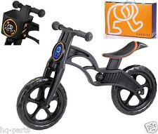 "Pop Bike Children Kids Learn Balance Bike 12"" EN71 & CE Certified Safety BLACK"
