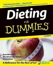 Dieting For Dummies, The American Dietetic Association, Kirby RD, Jane, Good Boo
