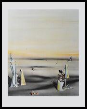 Yves Tanguy Die Luft in Ihrem Spiegel Poster Bild Kunstdruck & Alurahmen 60x48cm