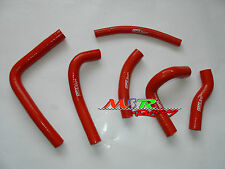silicone coolant radiator hose kit fits for Honda CR250R 2000 2001 00 01 red new