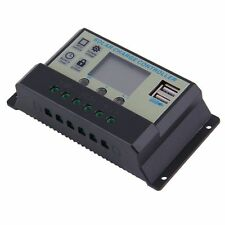 20A MPPT Solar Panel Battery Regulator Charge Controller 12 24V Auto PWM USB DS