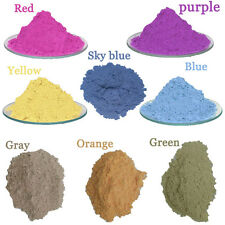 8col/lot  Photochromic Solar Pigment Sun Activated Color Changing Powder Car 5G
