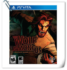 PSV PlayStation VITA THE WOLF AMONG US Telltale Games Action