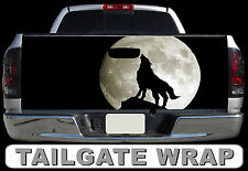 T301 WOLF Tailgate Wrap Decal Sticker Vinyl Graphic Bed Cover