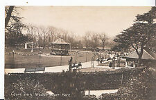 Somerset Postcard - Grove Park - Weston-super-Mare     A7076