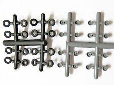 DM-Toys 17600 - 16 Felgen und Reifen 4,9 mm - Spur N - NEU