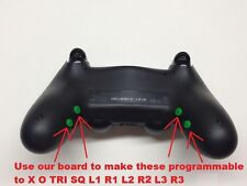 PLAYSTATION PS4 DualShock4 DS4 Remap Board. Install PROGAMMABLE Buttons Like XO