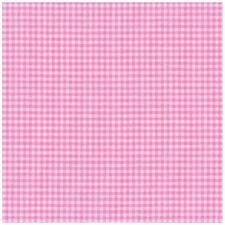 coupon patchwork country spécial plaid petits carreaux roses et blancs 24x70cm