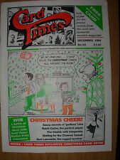 CARD TIMES MAGAZINE FORMERLY CIGARETTE CARD MONTHLY No 62 DECEMBER 1994