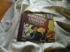 Hopalong Cassidy Singing Bandit rare Bozo approved sticker 1950  book & record
