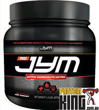 POST JYM 600G FRUIT PUNCH ACTIVE INGREDIENTS MATRIX POST-WORKOUT RECOVERY GROWTH